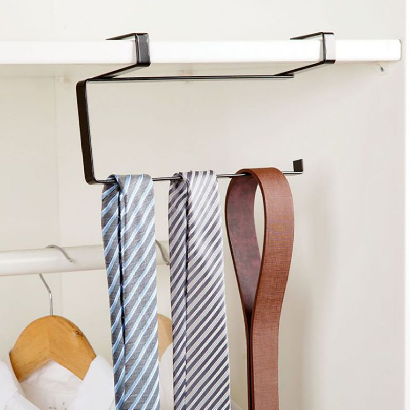 Roll Paper Rack Kitchen Cupboard Hanging Towel Holder Cling Film Storage