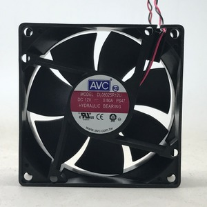Image 2 - Cooler hidráulico, para avc 8025 80mm x 80mm x 25mm › 12v 0.50a conector de 2 fios, conector de 2 fios
