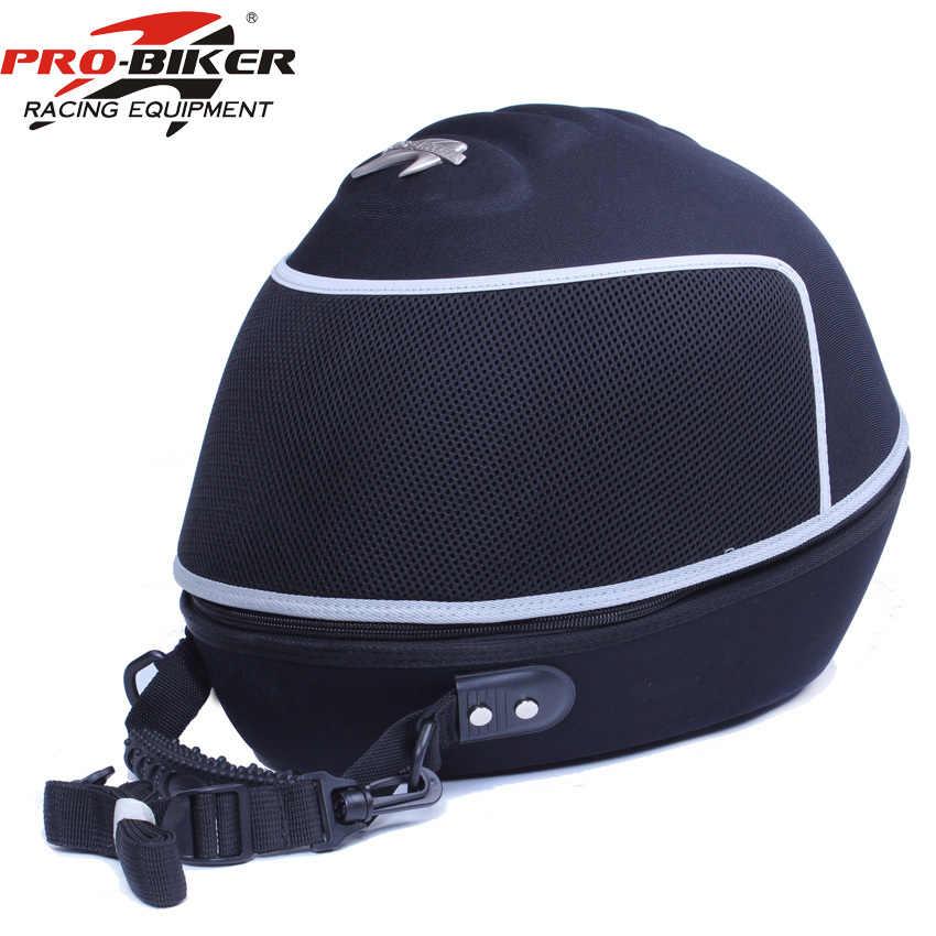 Pro biker sac de casque de moto | Sac d'équipement, sac de moto sac de coffre de moto, valises arrière sac à outils