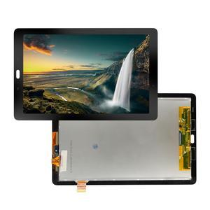 Digitalizador touchscreen para samsung galaxy tab, display de lcd para substituição, 10.1, 2016 e SM-P580 p585, montagem de vidro + ferramentas gratuitas