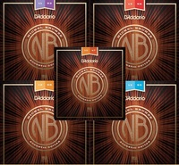 D'addario Nickel Bronze Acoustic Guitar Strings NB1047/NB1152/NB1253/NB1256/NB1356