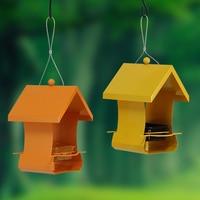 Bird Feeder Vật Nuôi Ngoài Trời Hoang Dã Container Thực Phẩm Công Viên Vườn Nhà Dễ Dàng Châu Âu Phong Cách Chủ Birds Nguồn Cung Cấp