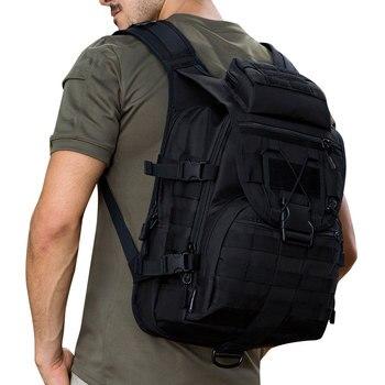 SINAIRSOFT 40L мужской тактический рюкзак тактическая сумка армейский военный охота спортивные рюкзаки камуфляж рюкзак для путешествий водонепр...