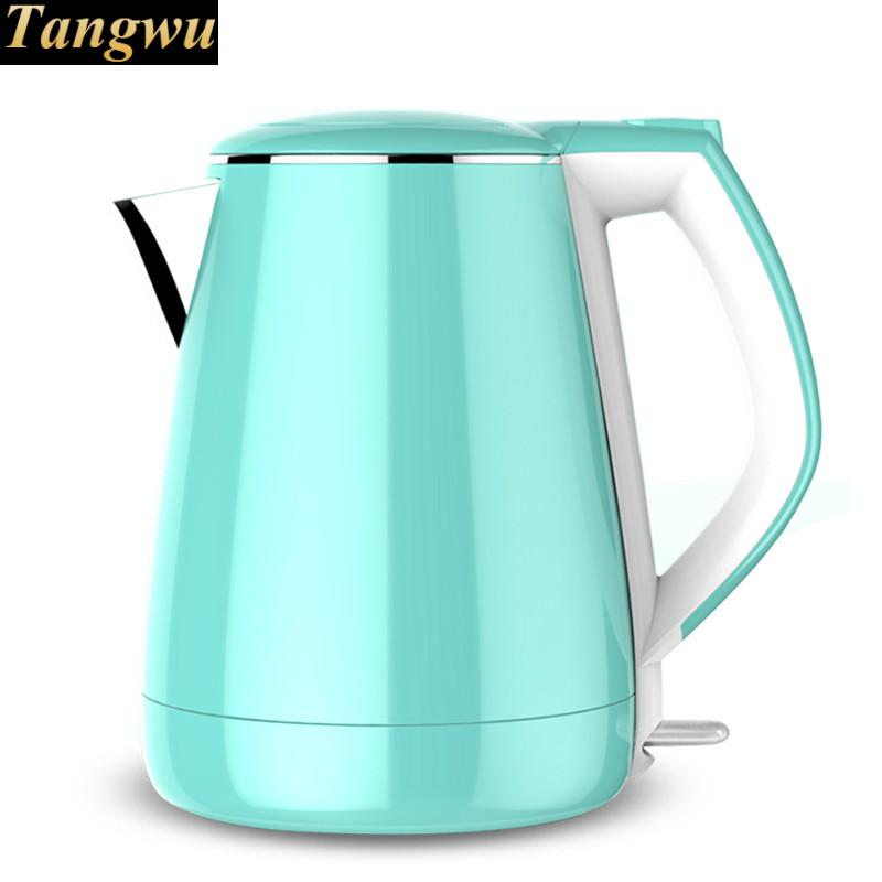 electric kettle USES 304 stainless steel thermal insulation for automatic power off