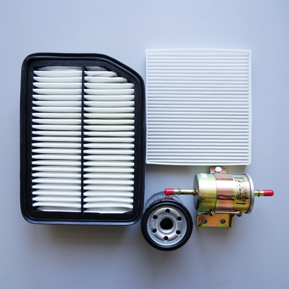 Prix pour Ensemble filtres pour changan cs35 air + cabine climatisation + essence + filtre À Huile quatre filtres qualité