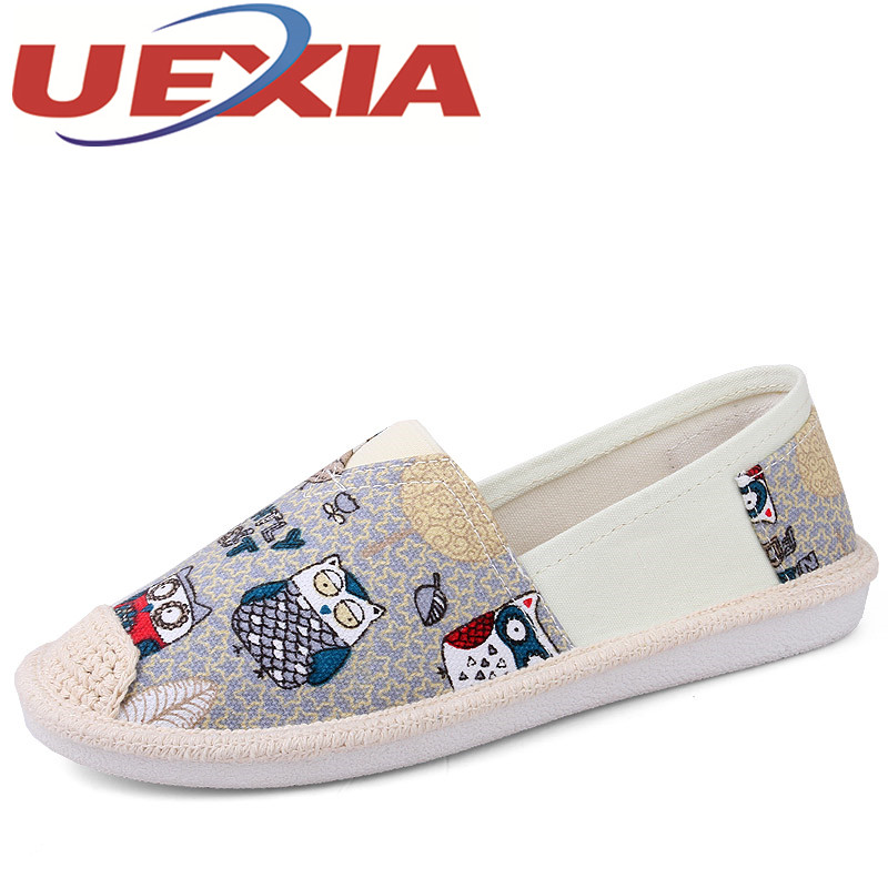 Plus Size 42 Women Casual Breathable Slip On Shoes Outdoor Fashion Canvas Loafers Shoes For Girls Summer Flat Walking Sneakers akexiya casual women loafers platform breathable slip on flats shoes woman floral lace ladies flat canvas shoes size plus 35 43