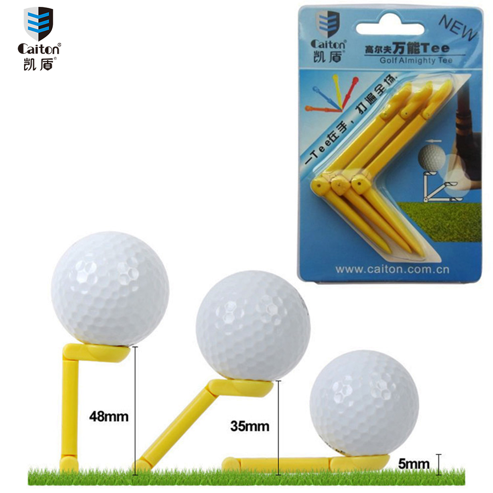 Caiton 3PCS/pack 83mm New Originality Plastic cement Universal folding Golf Tees