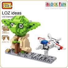 LOZ Diamond Blocks Character Master font b Action b font font b Figure b font Black