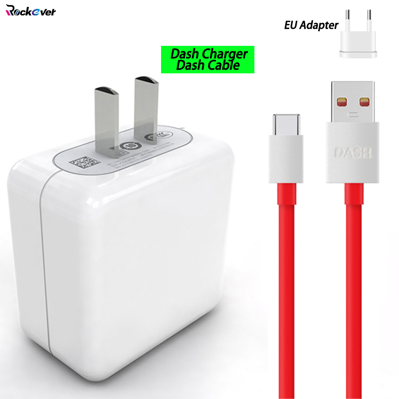 For Oneplus Dash Charger 5V/4A USB Flash Wall Charger Adapter 100CM Original Dash Cable Data Line For Oneplus 3 3T 5 5T 6