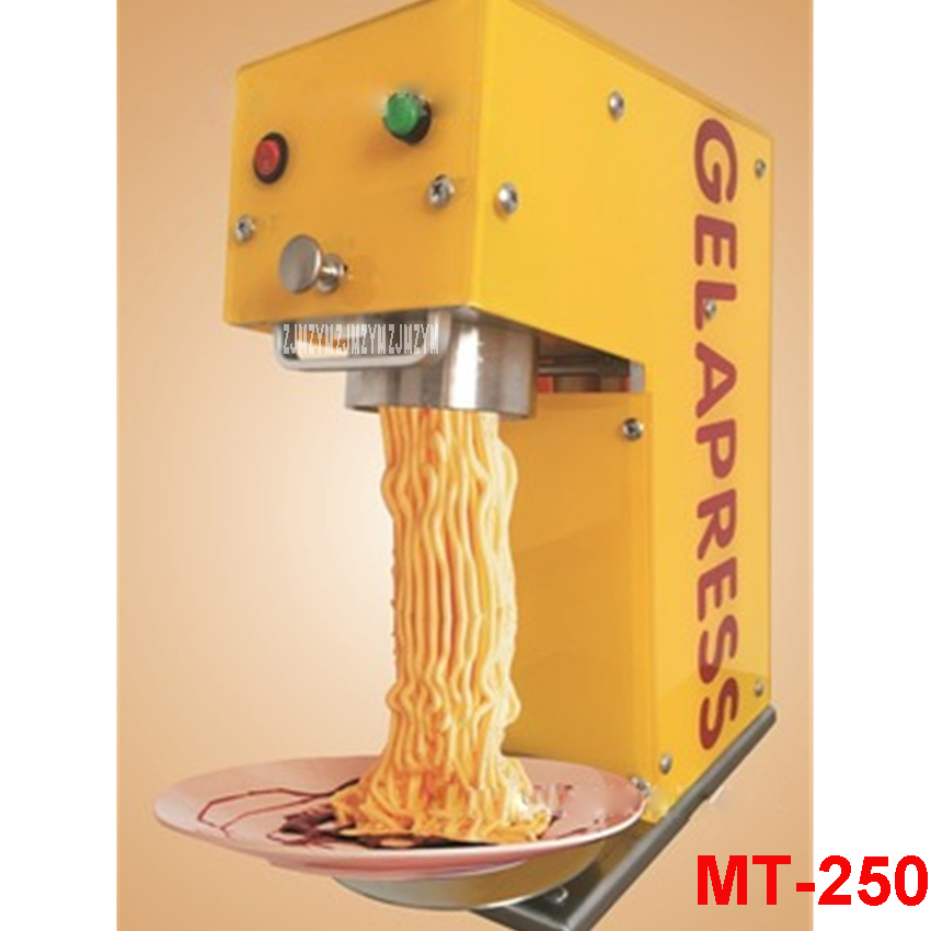 MT-250 italiano pasta maker mold ice cream Makers  220V / 110V 250ml Capacity Ice Cream Makers Fancy ice cream embossing machine набор для кухни pasta grande 1126804