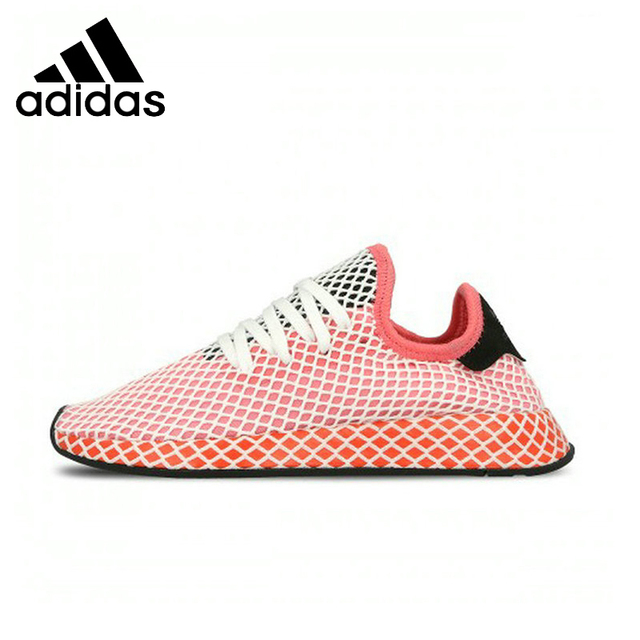 official photos a7191 51adb Adidas Deerupt Runner Running Shoes Breathable Stability Support Sports  Sneakers For Women Shoes B28076 CQ2624 CQ262