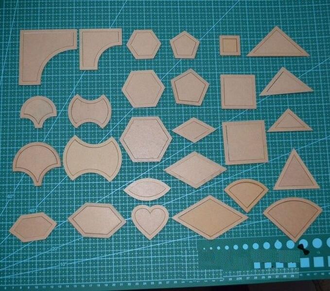 Šicí nástroje Diy patchwork cola quilt patchwork tools 27 in1 vyšívací forma