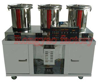 RY-DX8-20 (3+1) Stainless Steel Room Temperature Three Cylinder Packing Machine For Decocting Chinese Herbaldecocting Machine