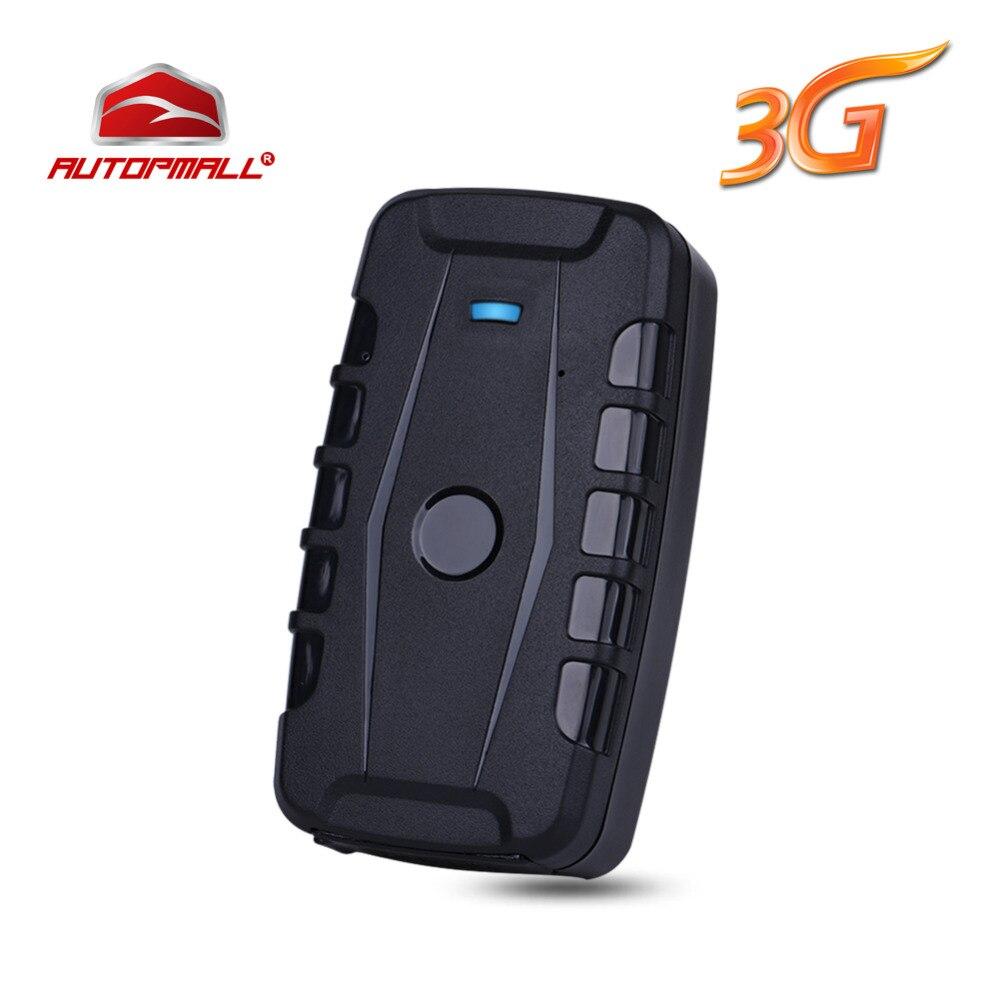 3G автомобиля GPS трекер LK209B устройства слежения WCDMA локатор GSM GPRS трекер 120 дней в режиме ожидания сильный магнит Водонепроницаемый