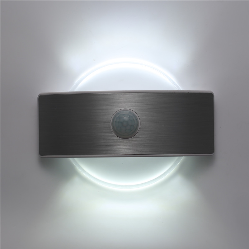 Cordless Indoor Wall Lamps : New 2W LED Round/ Square Indoor Wall Lamp Rechargeable Lithium Battery Bedroom Decorate Sconce ...