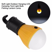 Soft Light Outdoor Hanging 3 Light Outdoor Camping Tent Lantern Bulb