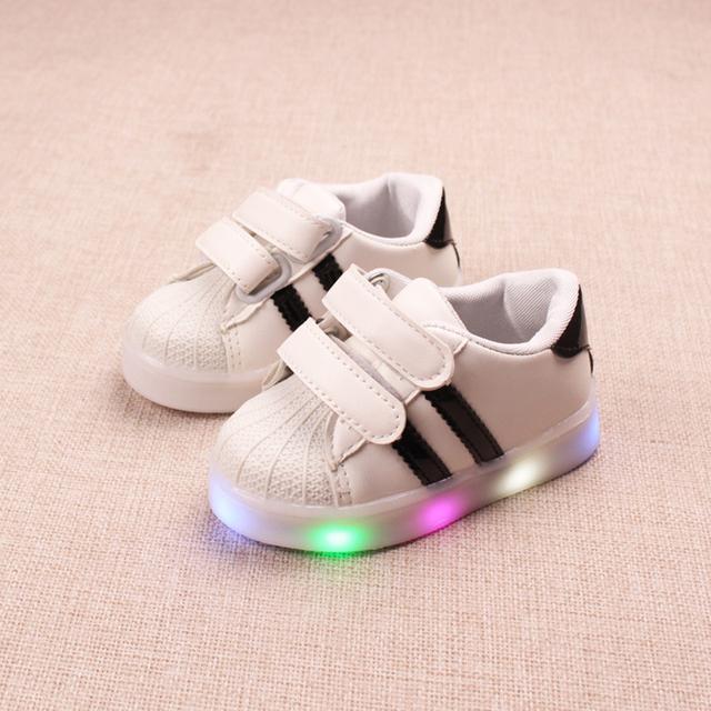 chaussures décontractées LED lumineuses