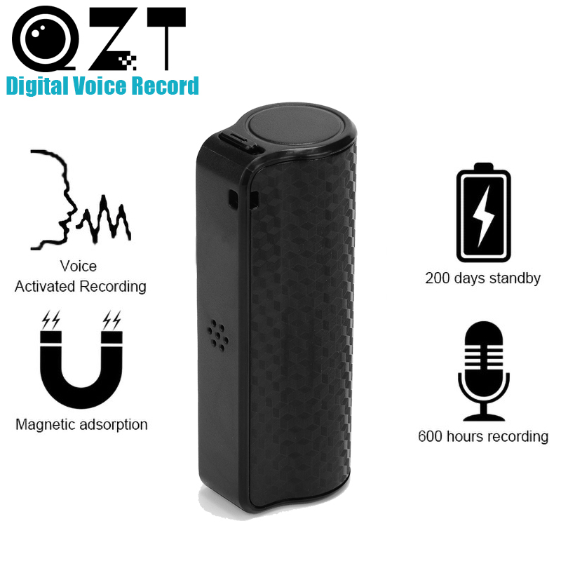 16GB Audio Voice Recorder 600 hours Recording Magnetic Professional Digital HD Dictaphone Denoise Long distance Waterproof