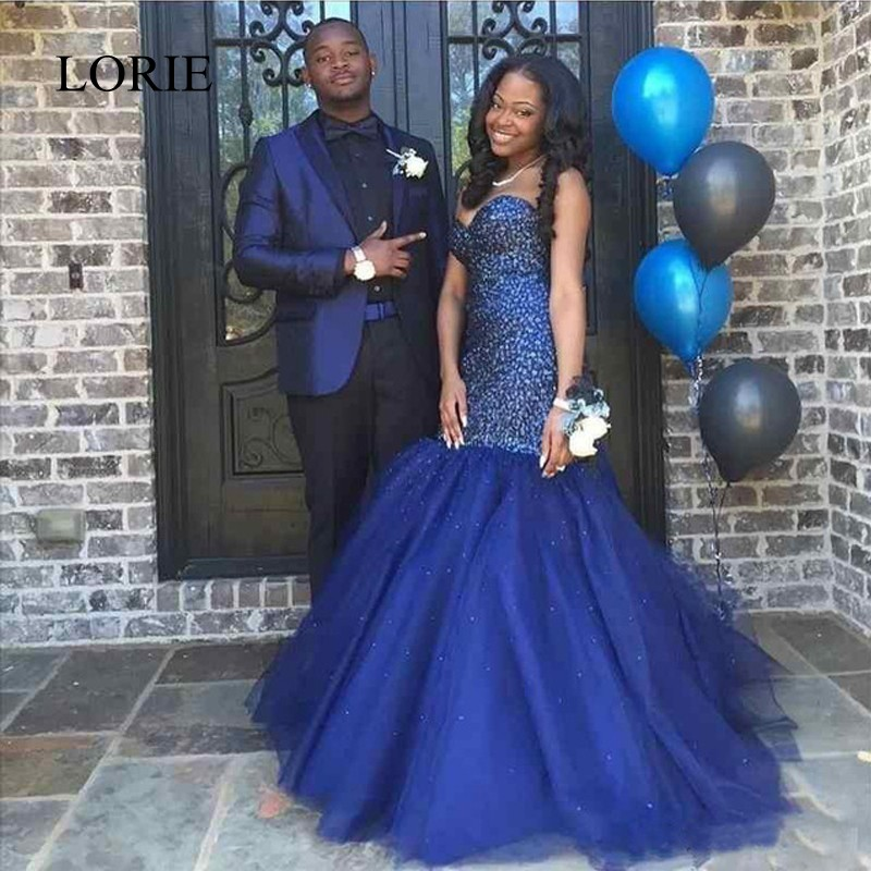 Compare Prices on Black and Blue Sequin Prom Dress- Online ...