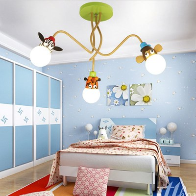 Novelty LED White Bulb Ceiling Lights Cartoon Animal Monkey Zebra Giraffe Children Kids Bedroom Room Lamps Hang Pendent LightNovelty LED White Bulb Ceiling Lights Cartoon Animal Monkey Zebra Giraffe Children Kids Bedroom Room Lamps Hang Pendent Light