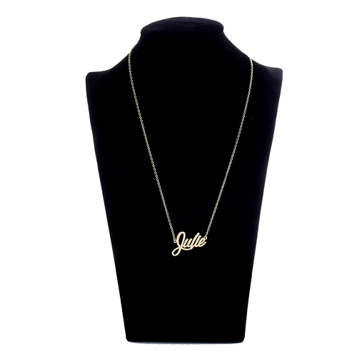 151c4e62e AOLOSHOW Stamped Necklace Name