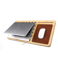 15 Inch Notebook Holder Cooler Pad With Card Slot For Phone Tablet Bracket For Office Home