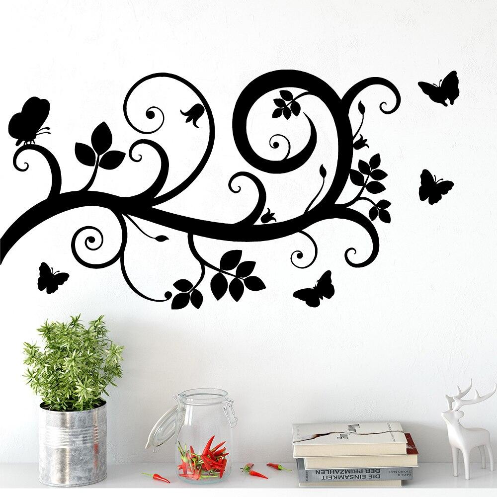 Fun tree Waterproof Wall Stickers Art Decor For Babys Rooms Wallpaper Vinyl Decoration
