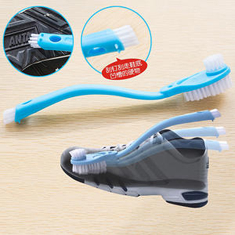 dcf57de8184 Home Shoes Sneaker Cleaning Brush, Plastic Athletic Running Shoes Sneakers  Clothes Washing Cleaning Scrubber Double headed Brush-in Cleaning Brushes  from ...