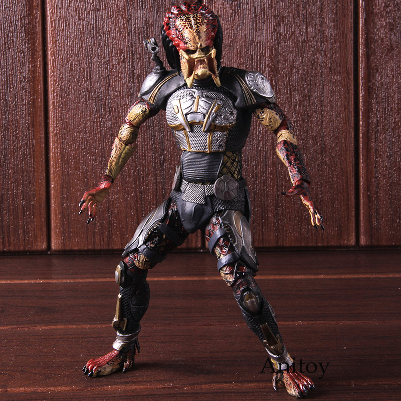2018 The Fugitive Alien VS Predator Ultimate Action Figure NECA PVC Collectible Model Toy 1