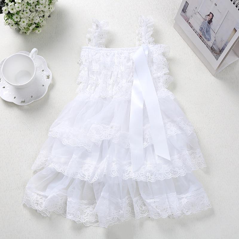 Детское платье. Качественное детское кружевное платье с цветами. Нарядное, многослойное кружевное платье цвета слоновой кости