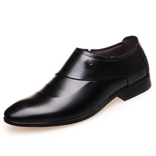 Factory direct fashion novel and unique design of the British business dress shoes casual pointed breathable men