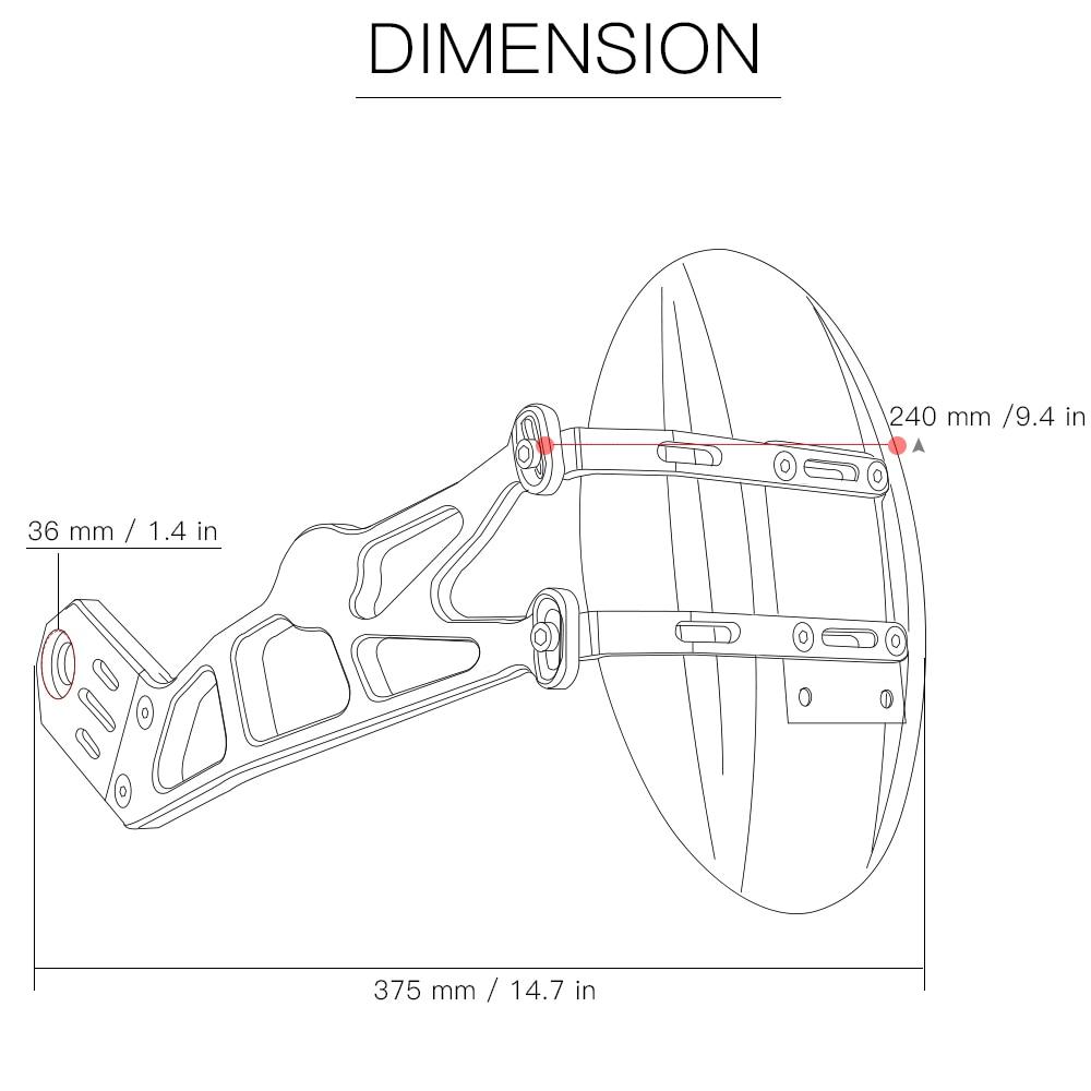 Motorcycle accessories rear fender mudguard rear wheel fender for kawasaki z1000sx z1000 sx 2010 2011 2012 2013 2014 2015 2016 in covers ornamental