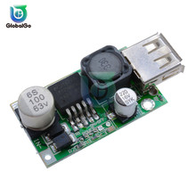 LM2596HV USB DC-DC Adjustable Step Down Buck Converter Power Module 12V 24V 48V to 5V 3A стоимость