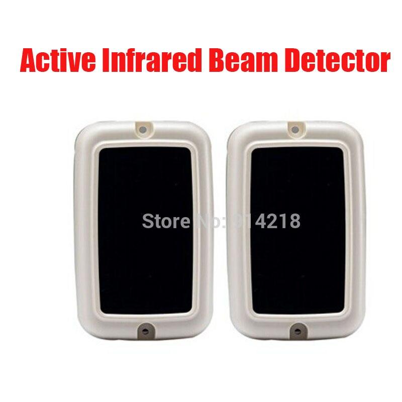Détecteur de faisceau infrarouge actif de marque à usage intérieur transmetteur d'alarme et récepteur intégration conception capteur de faisceau de sécurité IR
