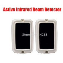 brand active infrared beam detector indoor use alarm Transimitter and receiver integration design security beam sensor IR