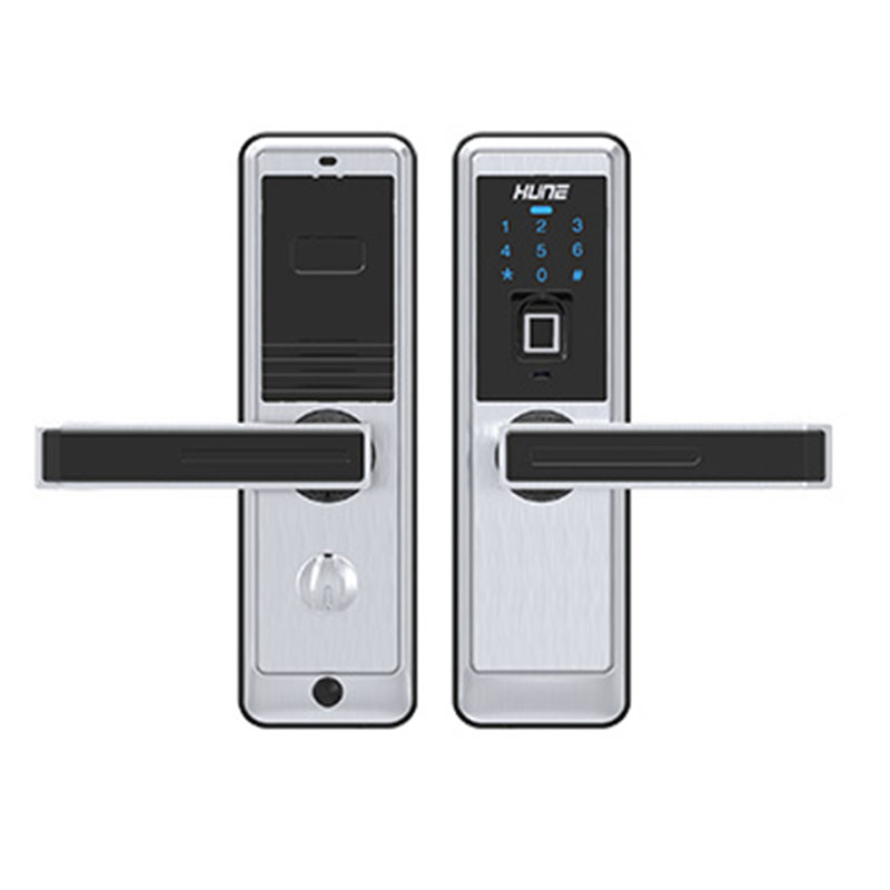 Fingerprint door lock electronic locks for doors biometric for 1 touch fingerprint door lock