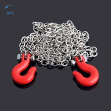New 1/10 RC Model Car Chain & Hooks For SCX10 Wraith Axial D90 Crawler Truck Accessory