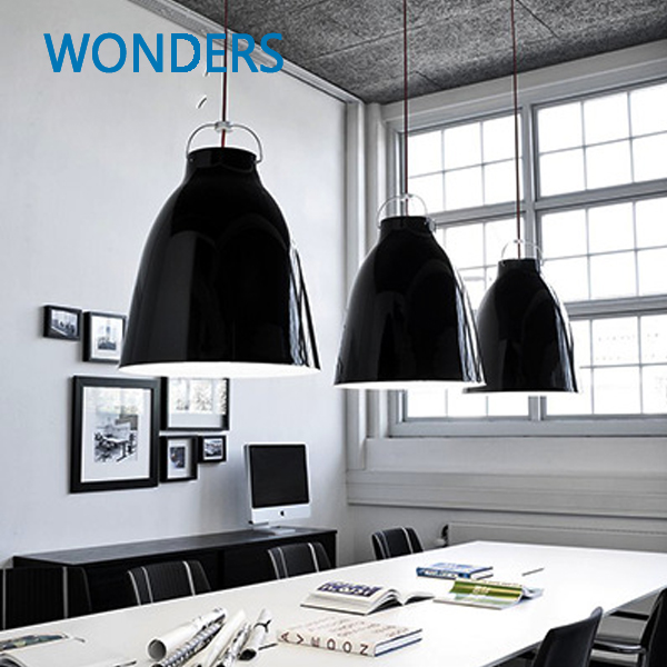 Dia 8 Inch Nordic Minimalist Caravaggio Pendant Light Modern Suspension Lamp Indoor Pendant Lighting bar/hotel/market decoration félix witting caravaggio