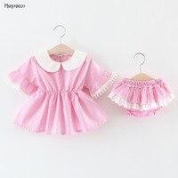 2017 The New Children S Wear In Summer Stripe Dress Of The Girls