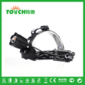HeadLamp Waterproof 2000Lm CREE T6 Zoomable Rechargeable LED 2x18650 Battary Focus Profession Headlight 3 Funcations10w -7021