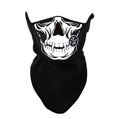 Skull Pattern Winter Neck Warm Face Mask Outdoor Sport Motorcycle Ski Bike Biker Veil