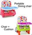 Bebê portátil cadeira de jantar cadeira de rodas ajustável assento para bebês rehausseur de chaise tronas para bebes