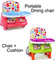 Portable Baby Dining chair Adjustable wheelchair seat for babies rehausseur de chaise tronas para bebes