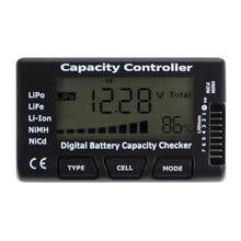 ЖК емкость батареи напряжение проверки Цифровой тестер аккумулятора для LiPo LiFe литий-ионный nicd nimh аккумулятор напряжение тестер проверки