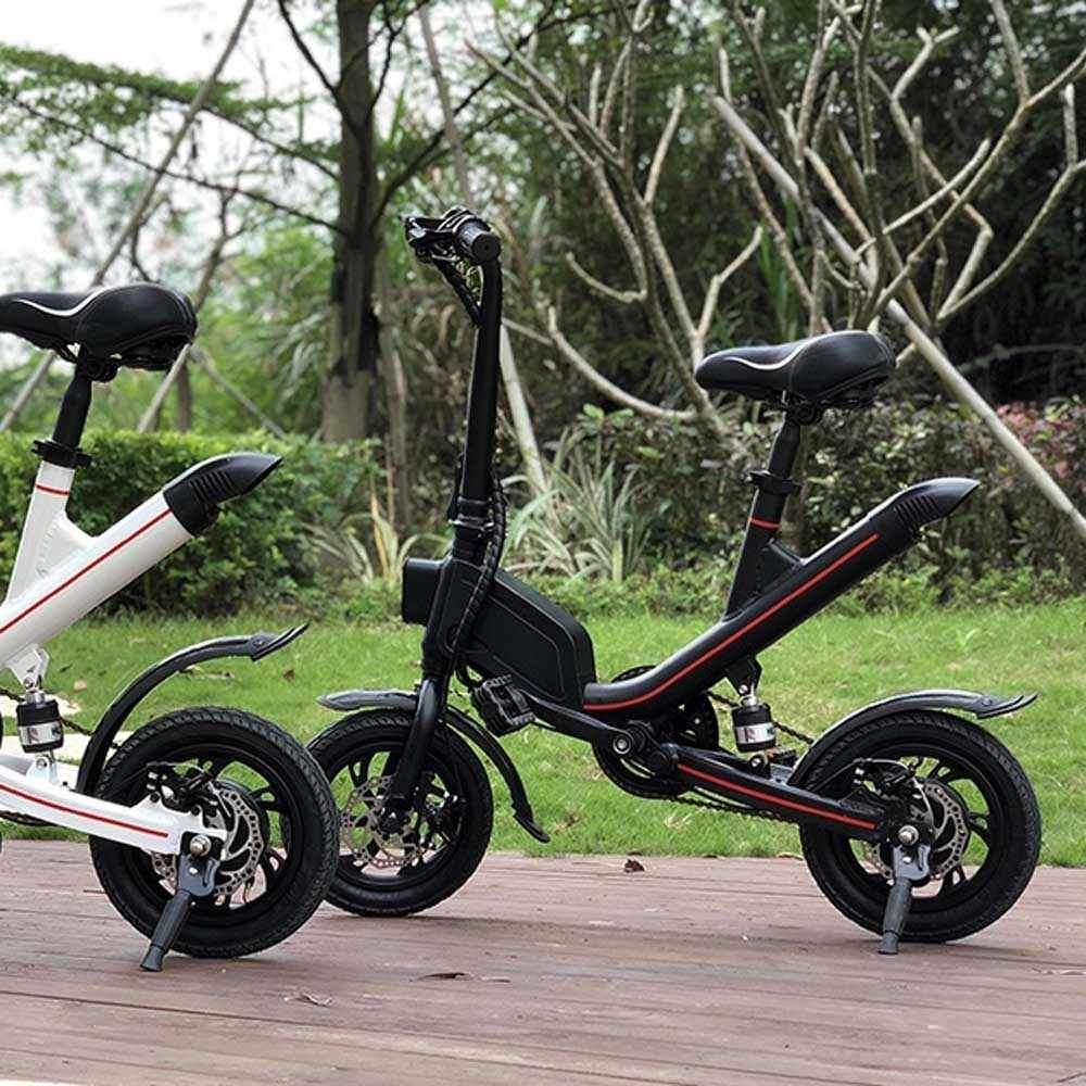 assistant mode electric folding bike kick scooter P5