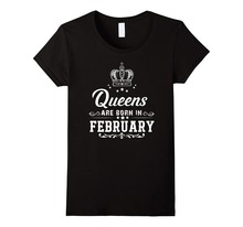 Only4U Company T Shirt Design Novelty Short Queens Are Born In February Shirt