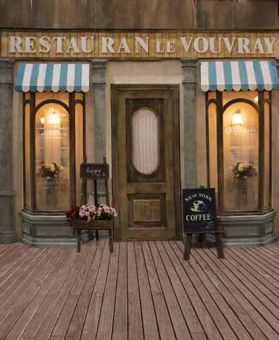 5x10FT Restaurant Coffee Shop Night Light Wooden Floor Yard Board Chair Photography Studio Backdrops Background Vinyl 8x12 10x20-in Background from Consumer ... & 5x10FT Restaurant Coffee Shop Night Light Wooden Floor Yard Board ...