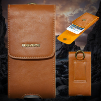 Universal Luxury Genuine Real Leather Case For IPhone 6 6S 7 Plus Case For Samsung Galaxy