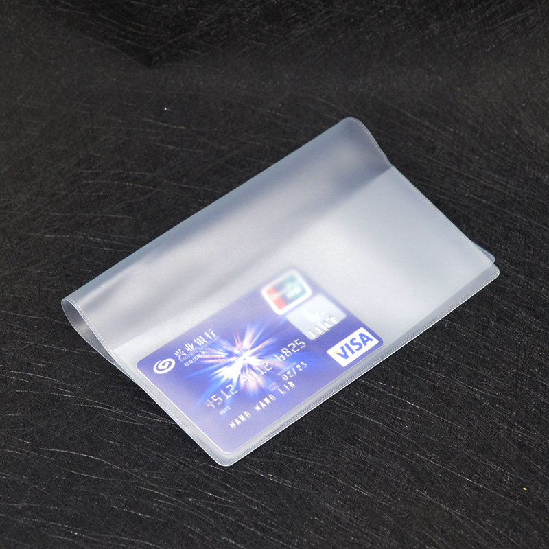 Pvc European Pet Passport Cover Transparent Waterproof Covers For Passports Plastic Pet Passport Protector Size 157mm*105mm