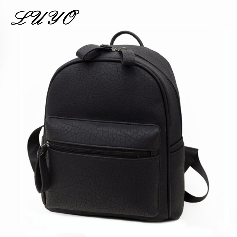 2017 New Alligator Leather Fashion Small Travel Backpack Youth Women Casual Bag Mochila Feminina Korean School Backbag Female drawstring pu leather backpack small school women bag top handle lock girl backpack new arrivals herald fashion mochila feminina